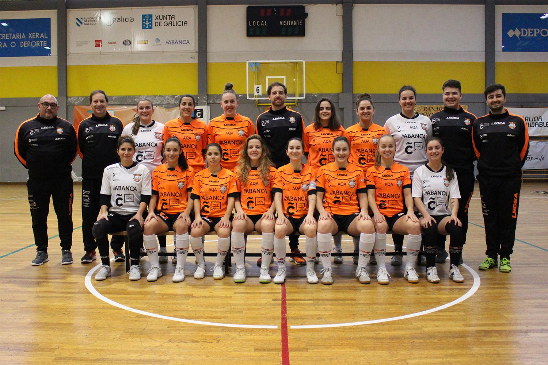Plantilla Segunda División Nacional Femenina FS | Viaxes Amarelle FSF